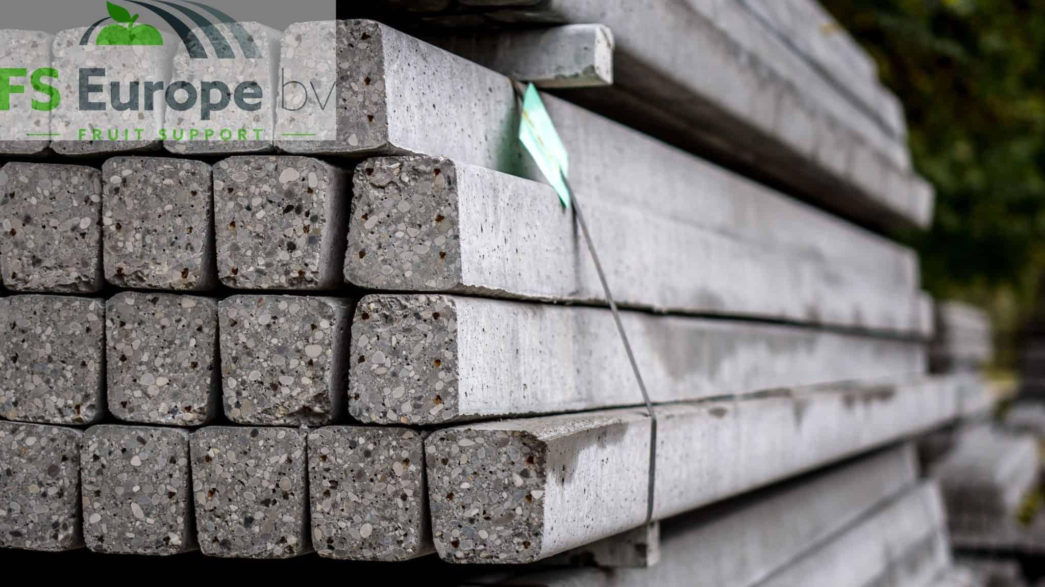 Tussenpalen beton